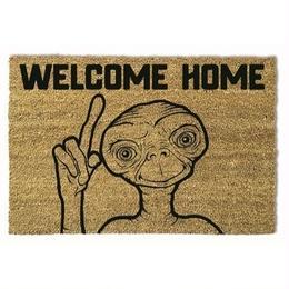 【海外直輸入】ET ウェルカムホーム ドア マット 玄関マット 映画 ウェルカム E.T. 宇宙人