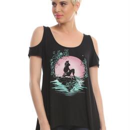 【USA直輸入】DISNEY リトルマーメイド アリエル Tシャツ シースルー 海外Tシャツ