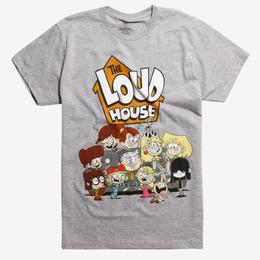 【USA直輸入】ザ ラウドハウス Tシャツ ニコロデオン ザ・ラウド・ハウス ニコロデオン The Loud House