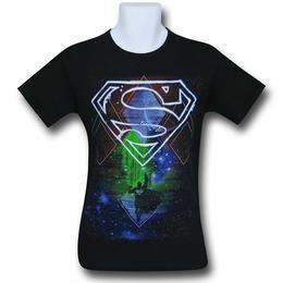 【USA直輸入】DCコミックス スーパーマン 抽象空間 アブストラクト スペース Tシャツ