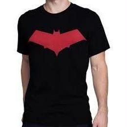 【USA直輸入】DCコミックス レッドフード マーク Tシャツ バットマン ロビン ナイトウィング DC