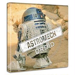 【アートデリ】「R2-D2」スターウォーズのファブリックボード インテリア アート 雑貨