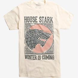 【USA直輸入】ゲームオブスローンズ スターク 冬来る Tシャツ winter is coming ゲーム・オブ・スローンズ GOT