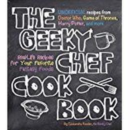 【USA直輸入】 洋書 the geeky chef cook book オタクシェフ クッキングブック BOOK  料理本 ハードカバー コレクターブック