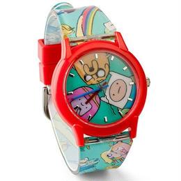 【USA直輸入】アドベンチャータイム リストウォッチ 腕時計 フィン ジェイク デッドプール プロップ