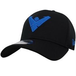 【USA直輸入】DC ナイトウィング ロゴ キャップ 39Thirty Fitted ニューエラ NEWERA ベースボールキャップ 帽子 DCコミックス ロビン バットマン