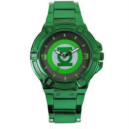 【USA直輸入】DCコミックス グリーンランタン リストウォッチ 腕時計 ロゴ 正規ライセンス