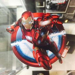 【USA直輸入】MARVEL アイアンマン マグネット 磁石 正規品 ダイカット