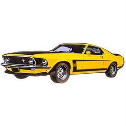 【USA直輸入】マスタング Mustang Boss 302  車 ブリキ看板  ブリキ 看板 メタルサイン ポスター   壁掛け インテリア