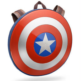 【USA直輸入】MARVEL キャプテンアメリカ シールド シビルウォー バックパック リュック バッグ マーベル コスプレ