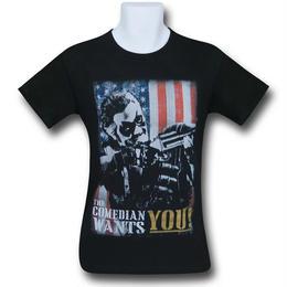 【USA直輸入】DCコミックス ウォッチメン コメディアン  Wants You Tシャツ