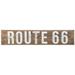 【USA直輸入】ウォールデコ ルート66 ROUTE66 白文字 木製 看板