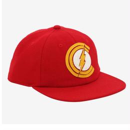 【USA直輸入】DC フラッシュ ロゴ コットン ハット キャップ 帽子 スナップバック FLASH
