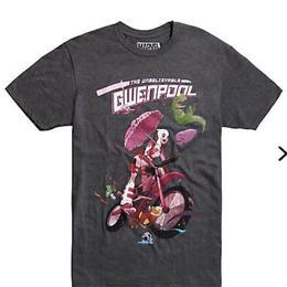 【USA直輸入】MARVEL グウェンプール バイク Tシャツ  マーベル 日本未発売