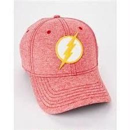 【USA直輸入】DC フラッシュ ロゴ  ダッド ハット キャップ 帽子 ベースボールキャップ  DCコミックス