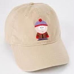【USA直輸入】サウスパーク スタン ロゴ  ダッド ハット キャップ 帽子 ベースボールキャップ