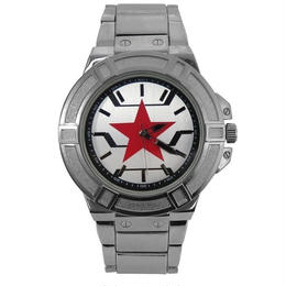 【USA直輸入】MARVEL ウィンターソルジャー キャプテンアメリカ リストウォッチ 腕時計 マーベル バッキー 正規ライセンス