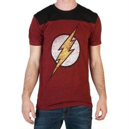 【USA直輸入】DCコミックス FLASH フラッシュ Tシャツ ロゴ ジャスティリーグ DC
