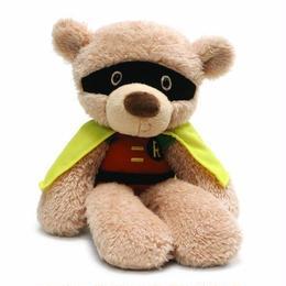 【USA直輸入】DC GUND ガンド ぬいぐるみ プラッシュ 36㎝ ファジーベア ロビン クマ Robin バットマン