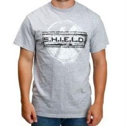 【USA直輸入】MARVEL シールド Tシャツ エージェントオブシールド グレー ロゴ マーベル