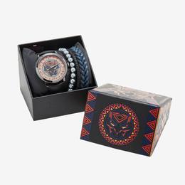 【USA直輸入】MARVEL ブラックパンサー ブレスレッド付き リストウォッチセット 腕時計
