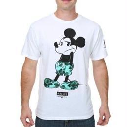 【USA直輸入】DISNEY ミッキー フローラル Tシャツ ディズニー ミッキーマウス