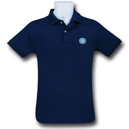 【USA直輸入】STAR TREK 惑星連邦 UFP ロゴポロシャツ スタートレック