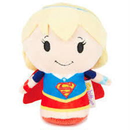 【USA直輸入】DCコミックス スーパーガール ぬいぐるみ ittybittys 約10cm hallmark DC スーパーマン