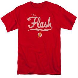 【USA直輸入】 DC フラッシュ シンプル ロゴ Tシャツ DCコミックス FLASH
