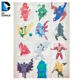 【USA直輸入】DCコミックス ジャスティスリーグ ウッド ウォールデコ 看板 インテリア 壁掛け ポスター バットマン ワンダーウーマン スーパーマン