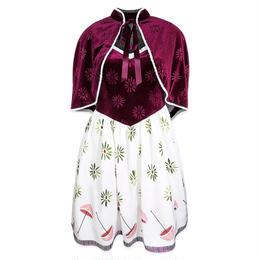 【USA直輸入】DISNEY ホーンテッドマンション タイトロープガール ドレス ワンピース ドレスショップ ケープ セット DRESS SHOP ディズニー  Dハロ