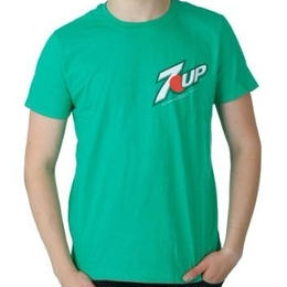 【USA直輸入】ドリンク 7UP Tシャツ ロゴ セブンアップ