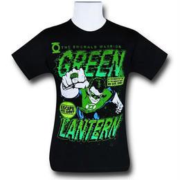 【USA直輸入】DCコミックス グリーンランタン コミック フィスト Tシャツ
