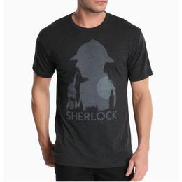 【USA直輸入】SHERLOCK シャーロック シルエット Tシャツ イギリス BBC  大人気のドラマシリーズ