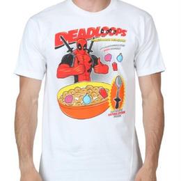 【USA直輸入】MARVEL デッドプール シリアル柄 Tシャツ マーベル 日本未発売