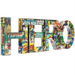 【USA直輸入】MARVEL HERO 木製 ウォールデコ 看板 ポスター   壁掛け インテリア  ヒーロー