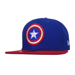 【USA直輸入】MARVEL NEWERA キャプテンアメリカ キャップ 帽子 ニューエラ950 マーベル ロゴ 盾