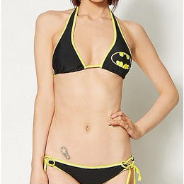 【USA直輸入】DCコミックス バットマン 水着 ビキニ 2ピース 上下セット ビーチ プール