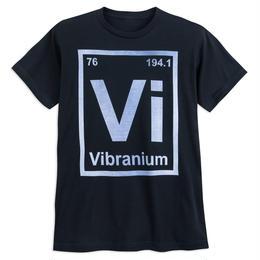 【USA直輸入】MARVEL キャプテンアメリカ ヴィブラニウム Vibranium Tシャツ ブラックパンサー