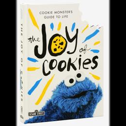 【USA直輸入】セサミストリート クッキーモンスター  The Joy of Cookies 人生へのガイド 本 絵本 洋書 セサミ
