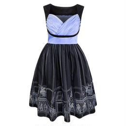 【USA直輸入】DISNEY ホーンテッドマンション ドレス ワンピース ドレスショップ DRESS SHOP ディズニー Dハロ
