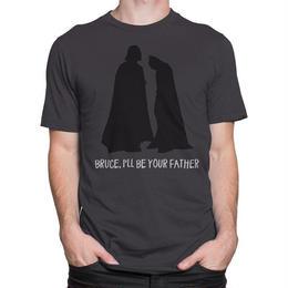 【USA直輸入】DC ダースベイダー バットマン ブルース  I'll Be Your Father  Tシャツ DCコミックス   スターウォーズ