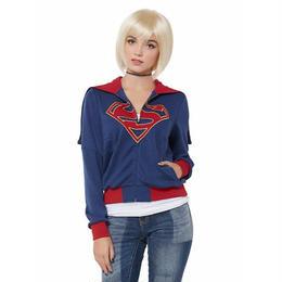 【USA直輸入】DCコミックス スーパーマン(スーパーガール) コンセプト パーカー SUPERMAN 海外ドラマ 送料込み