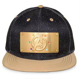 【USA直輸入】MARVEL アベンジャーズ インフィニティウォー キャップ 帽子 マーベル ロゴ インフィニティ ガントレット