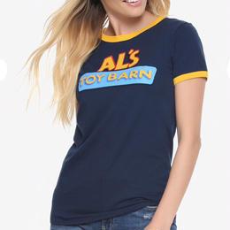 【USA直輸入】DISNEY トイストーリー トイバーン Tシャツ レディース アルのおもちゃ