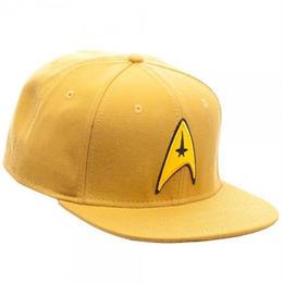 【USA直輸入】スタートレック コマンド ロゴ スポック カーク ロゴ コットン ハット キャップ 帽子 スナップバック スタトレ Star Trek