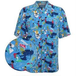 【USA直輸入】STAR TREK スタートレック クルージン ザ ギャラクシー ボタンダウンシャツ 開襟シャツ Tシャツ