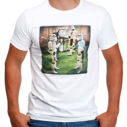 【USA直輸入】STARWARS トルーパー BBQ Tシャツ スターウォーズ 正規ランセンス品
