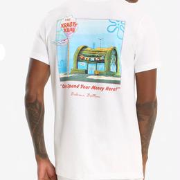 【USA直輸入】スポンジボブ Tシャツ カーニバーガー バックプリント ニコロデオン カニカーニ