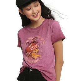 【USA直輸入】DISNEY ライオンキング Tシャツ パープル グラデーション
